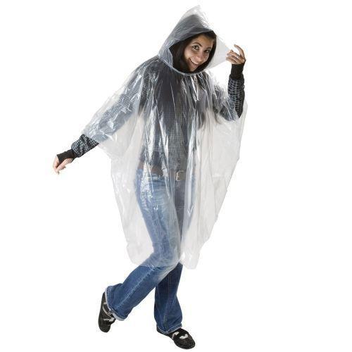 Notfallponcho für schnellen Regenschutz