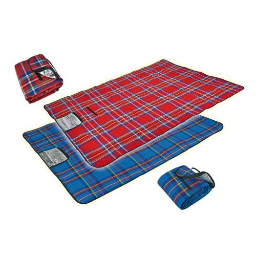 Picknickdecke mit Alubeschichtung