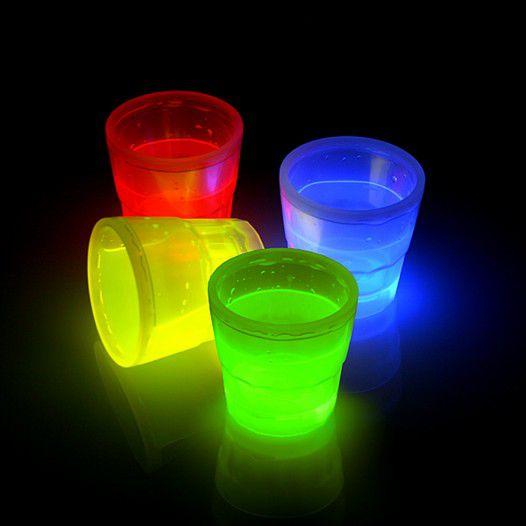 Knicklichter Leuchtbesser Shots