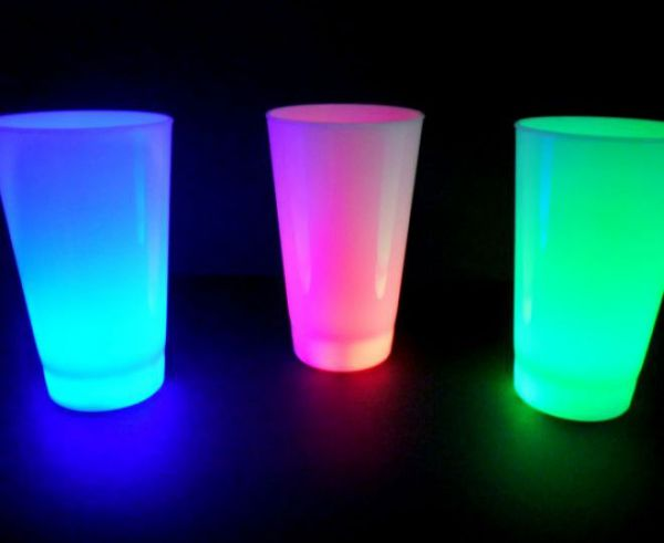 LED Leuchtbecher