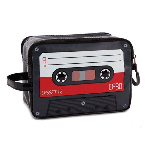 Waschtasche Audiocassette