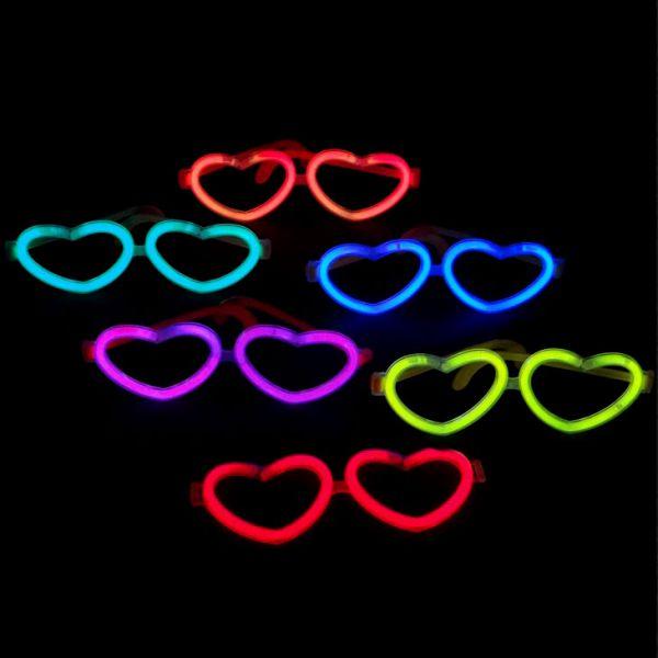 Knicklichter Brille Herz