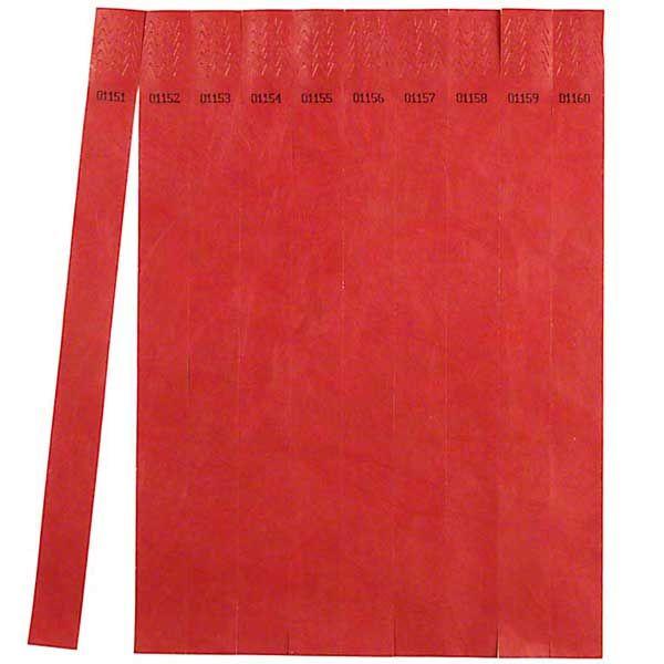 Eintrittsbänder Rot