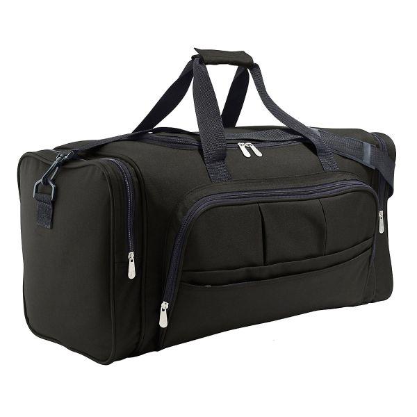 Reisetasche mit vielen Fächern - perfekt für ein Wochenende
