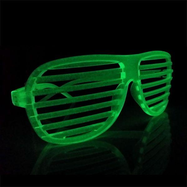 fluoreszierende Partybrille