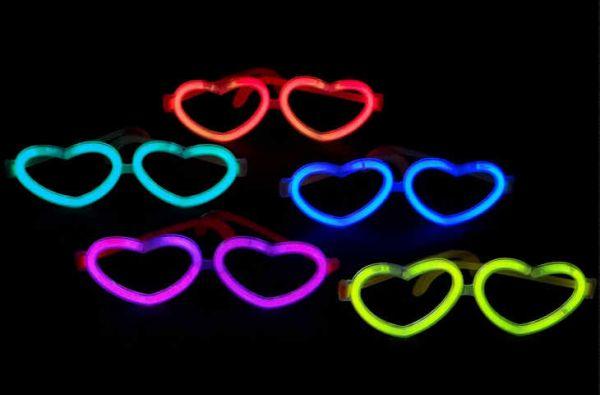 Knicklichter-Brille Herz