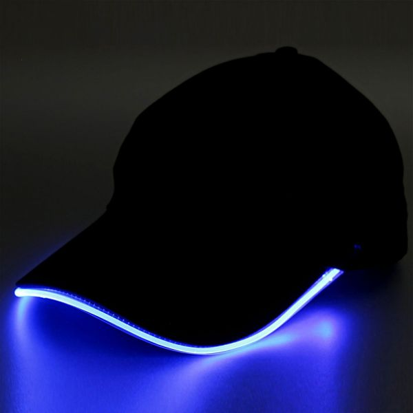 Basecap mit leuchtenden LEDs