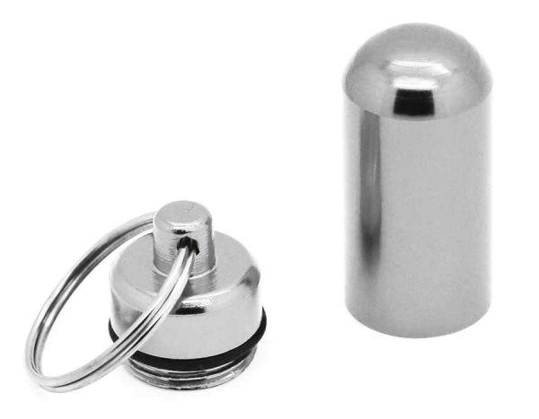 Pillenbox, Geldscheinversteck, Ohrstöpselaufbewahrung und vieles mehr